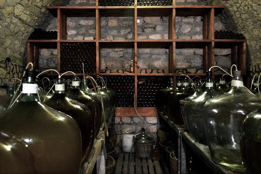 Domeniile Roșca, vinul din cramă